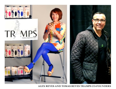 Tramps fashion compression hosiery a beautiful and for A t tramp salon
